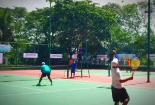 Gubernur Buka Tournamen Tenis Eksternal PetroChina