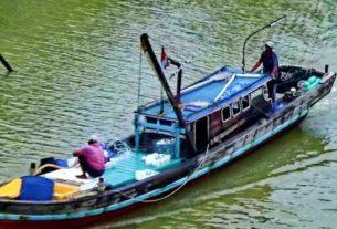 Gelombang Tinggi, Aktivitas Nelayan di Tanjabbar Mandek