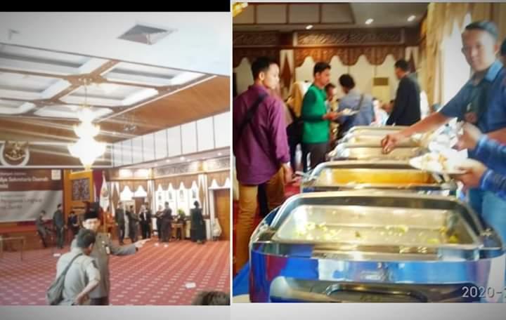 Perkara Makanan Habis di Rumdis Gubernur, Pemprov Angkat Bicara