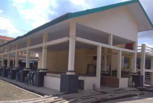 Bangunan Pasar Ikan Serdang Jaya Terkesan Mubazir