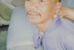 Tersangka pembunuhan anak kandung di Sungai Manau pekan ini, ditangkap polisi.