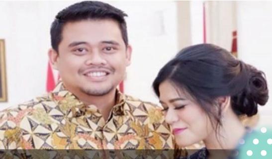 Tak Hanya Anaknya, Menantu Jokowi Juga Ikut Pilwako