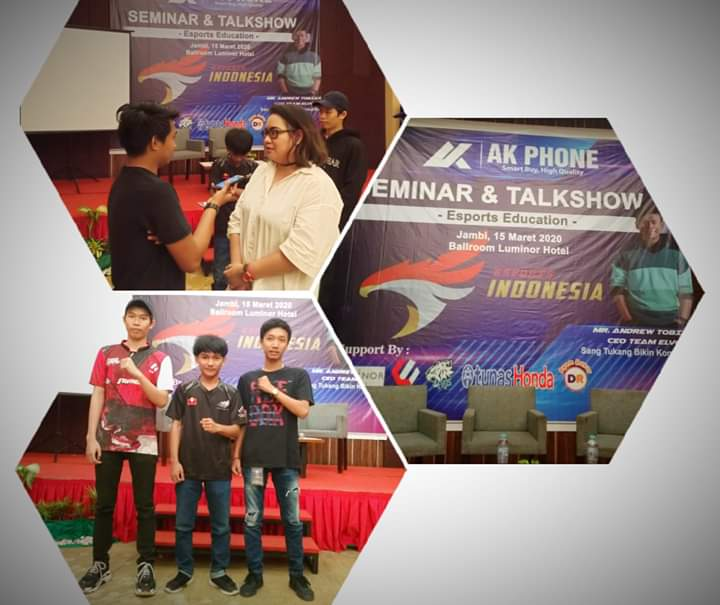 Talk Show E-sports Jambi Berlangsung Sukses, Ini Pesan FB Pusat
