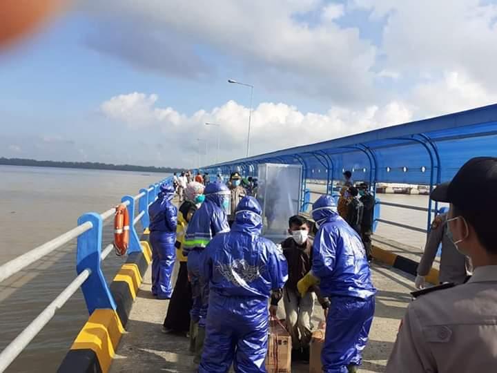 Ternyata, Ratusan Penumpang di Pelabuhan Roro Bukan TKI