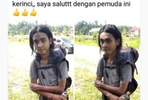 Berita Jambi Jagat media sosial kembali heboh. Khususnya di Jambi, lagi viral, Abu Syamsudin jalan kaki dari Jateng demi daki Gunung Kerinci.