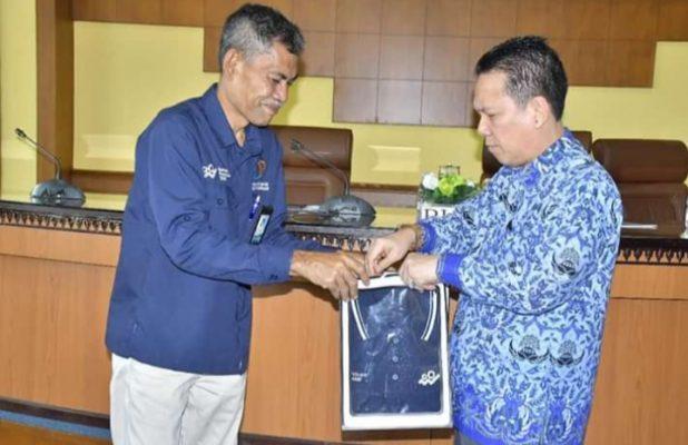 Bupati Batang Hari, Ir H Syahirsah, Sy hadiri Rapat Koordinasi Sensus Penduduk 2020 (SP2020) yang dilaksanakan di Ruang Pola Kantor Bupati Batang Hari pada Senin (17/02).