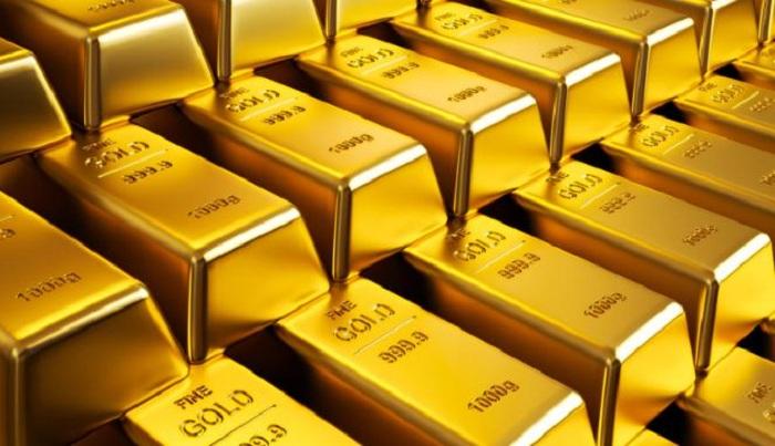 Harga emas batangan PT Aneka Tambang Tbk (Antam) pada hari ini, Rabu 1 April 2020 turun 2 persen dari harga pada perdagangan sebelumnya.
