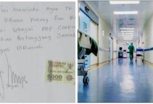 Pasien positif Corona dari isolasi di Rumah Sakit Raden Mattaher. Heboh pasien positif corona pulang ke rumah, HMI minta copot Dirut RSRM.