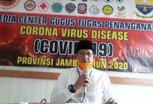 Pasien Positif COVID-19 di Jambi Bertambah, 3 Asal Tanjabbar dan 1 Kota