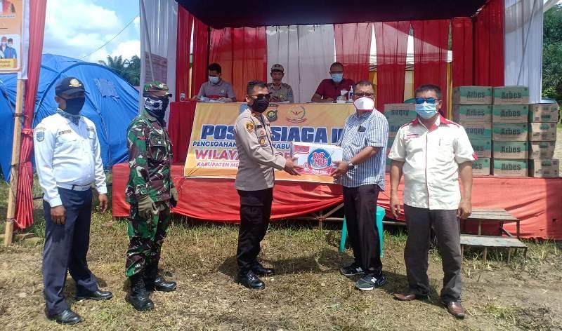 Dinamika Jambi Berita Jambi - Bantu Posko Covid-19 di Pamenang, Kabupaten Merangin, Izhar Majid : Ada Anggaran Tapi Lambat