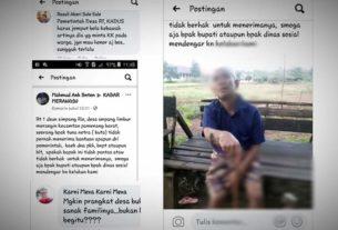 Tuna Netra Tak Tersentuh Bantuan Covid-19, Prangkat Desa Jadi Sorotan