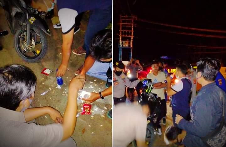Kedapatan Miras dan Ngelem, Sejumlah Pemuda Diamankan Polisi