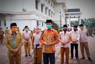DPRD Provinsi Jambi Ajak Seluruh Pihak Bergotong Royong Tangani Covid-19