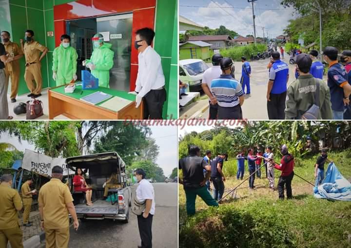 Lagi, Mahasiswa KKN Terlibat Dalam Penanganan Covid-19 di Jambi