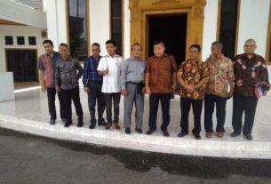 DINAMIKA JAMBI - DPRD Kabupaten Muaro Jambi mendapat kunjungan dari DPRD kota Batam. Kasubag Humas DPRD Muaro Jambi, sambut DPRD Batam.