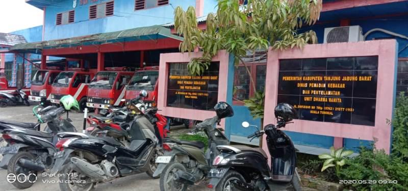 Musibah kebakaran sering kali terjadi di wilayah Kabupaten Tanjung Jabung Barat. Kasus kebakaran tercatat dari Januari hingga Mei 2020 menurun