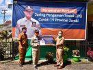 Bupati Hadiri Kunker Gubernur Jambi Menyerahkan Bantuan JPS