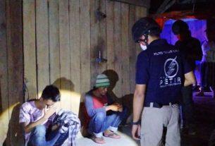 Tekan Kriminalitas, 4 Pemuda Mabuk Diamankan Polisi