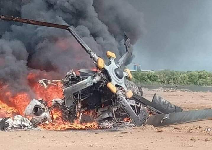 Tengah latihan, Heli milik TNI AD jatuh di Kendal, Jawa Tengah, Sabtu (6/6/20). Ada 9 nama korban, 4 meninggal dunia.