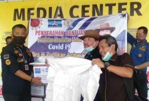 Komisi IX DPR RI Zulfikar, Serahkan Bantuan APD Covid-19