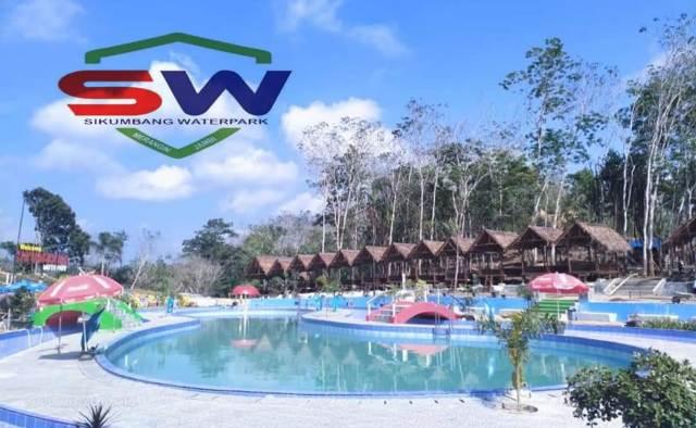 Belum diresmikan, pengunjung wisata baru di Merangin ini terus naik. Meski begitu, Perizinan Sikumbang Water Park belakangan disoal.