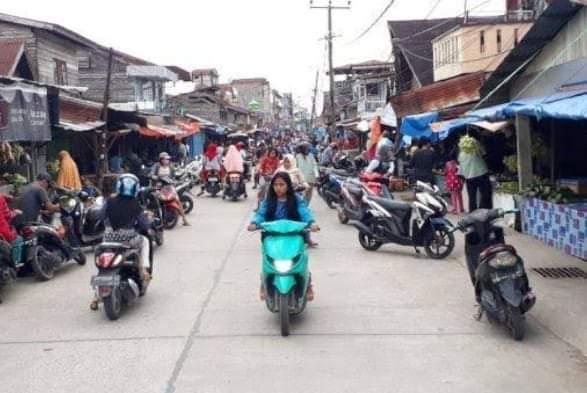 Gagal Relokasikan Pedagang, Bangunan Pasar Rakyat Terkesan Mubazir
