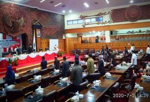 Gubernur Tak Hadir Dalam Rapat Paripurna Penyampaian Pengantar Ranperda Tahun Anggaran 2019