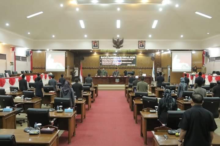DPRD Rapat Paripurna Internal dan Raperda
