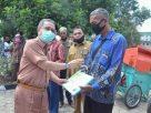 Bupati Serahkan 24 Unit Alat Mesin Pertanian Pada 22 Kelompok Tani