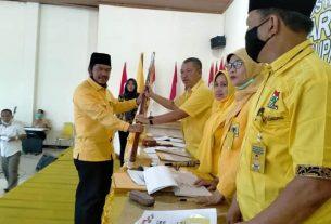 Aklamasi, Tontawi Jauhari Resmi Pimpin Golkar Sarolangun