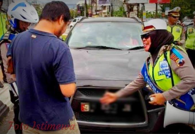 Hati-Hati, Polisi Incar Pelat Kendaraan Yang di Modifikasi