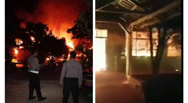 Masih ingat kebakaran hebat di SMAN 8 Merangin? Belajar kebakaran sekolah di Pamenang itu, dewan pilih Damkar dibanding alat berat.