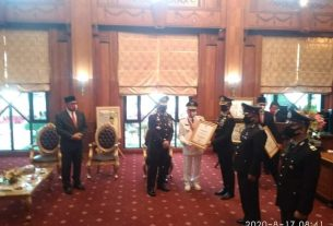 Belajar di Kantor Polisi, Wakapolres Muaro Jambi Sambet Penghargaan