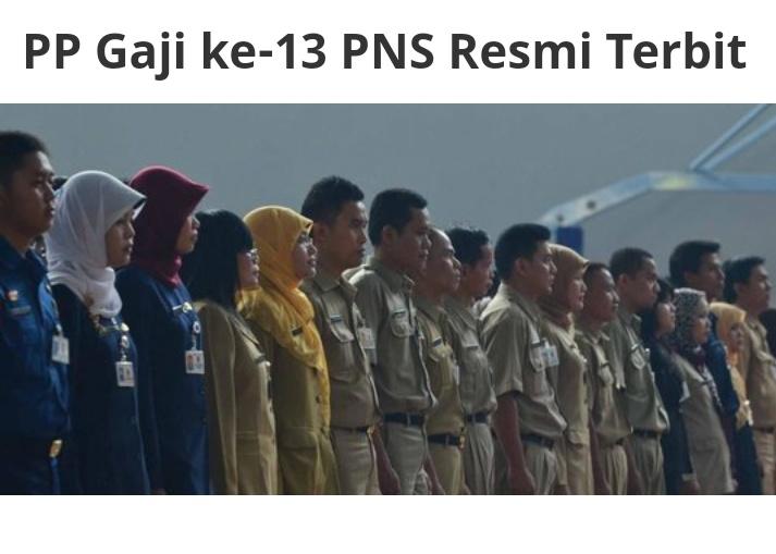 Segera Cair, Tidak Hanya Untuk PNS, Tapi CPNS Juga Dapat Gaji ke-13