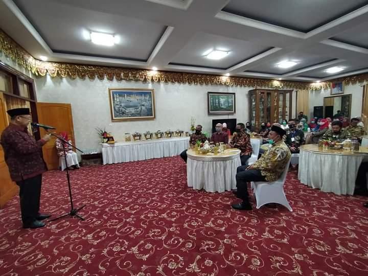 Dihadapan Pangdam Sriwijaya, Bupati Kenalkan Sarolangun