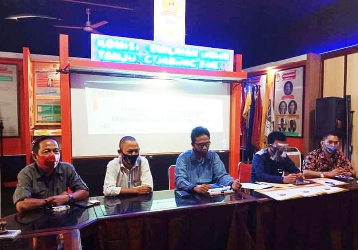 KPU Tanjabbar Tetapkan 3 Paslon Bupati dan Wakil Bupati