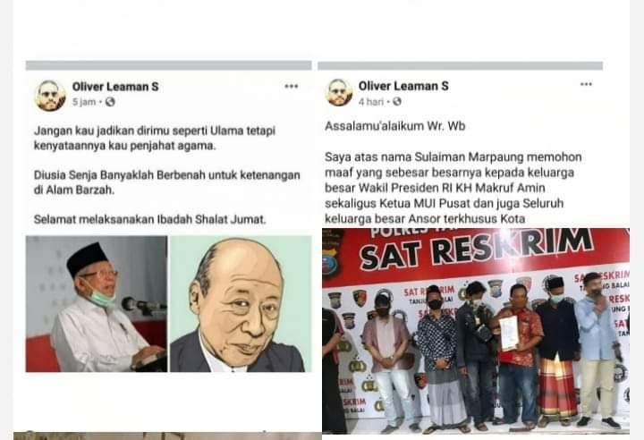 Nekat Sandingkan Foto Wakil Presiden Dengan Kakek Sugiono, Ini Akibatnya