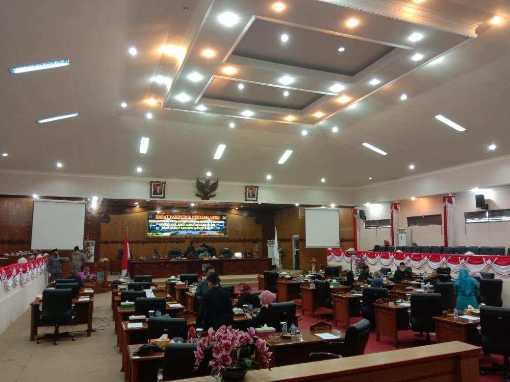 Rapat Paripurna Diskor, Dewan Minta Kehadiran Bupati