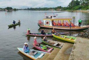Curhatan Penambang Ketek Danau Sipin, Pendapat Anjlok Sejak Corona