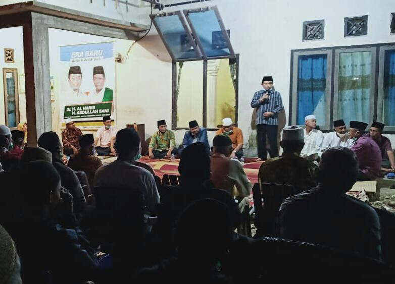 Di Sarolangun, Al Haris Paparkan Konsep Pembangunan Jambi