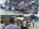 Kecelakaan di Kecamatan Pelepat. Kronologi kecelakaan beruntun bus, truk dan motor di Bungo, Rabu (30/9/20) bermula dari salip kendaraan.