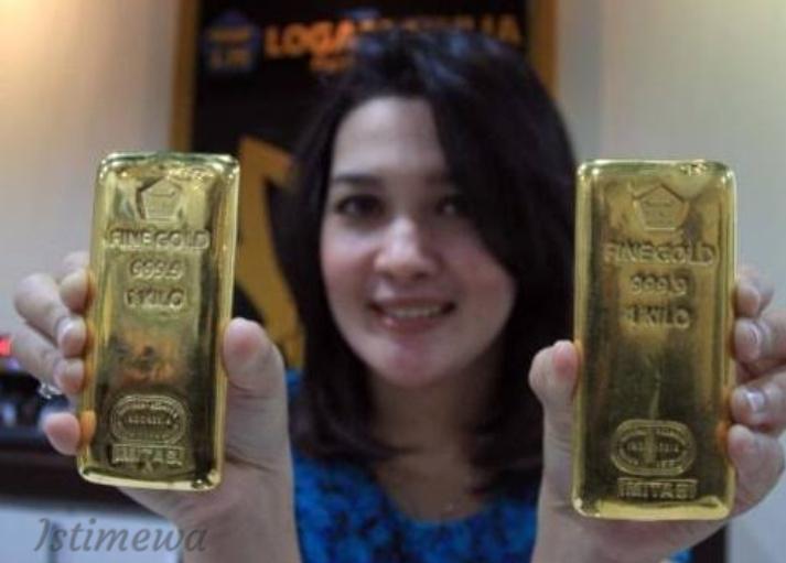 Harga Emas Antam Hari Ini Turun 7 Ribu, Berikut Rinciannya