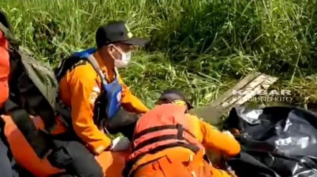 Geger, Penemuan Mayat Di Sungai Kumpeh