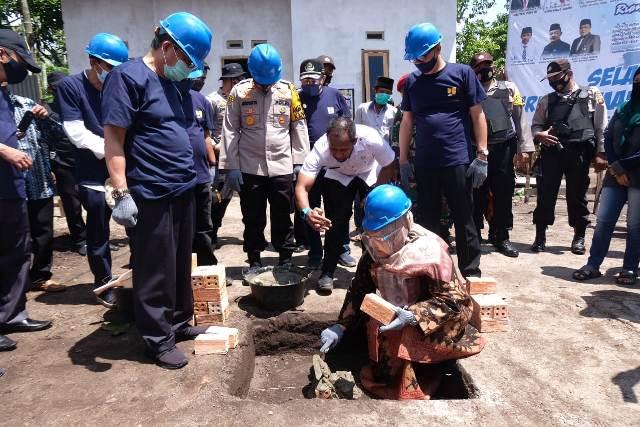 Dapat Bantuan 945 Unit Rumah Layak Huni, Bupati : 2021 Lebih Banyak Lagi