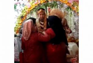 Didatangi 3 Mantan Kekasih Menangis, Pernikahan Pria Ini Viral