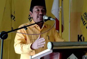 Prosesi Musyawarah Golkar Kecamatan Cermin Nan Gedang telah usai dilaksanakan, Sabtu (24/10). Tantowi sebut, siapapun yang terpilih nanti yang penting bisa besarkan Partai.