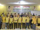Musyawarah Kecamatan, atau Muscam yang ke IV partai Golkar Sarolangun telah usai. Penutupan langsung dipimpin oleh ketua DPD II, Tontawi Jauhari.