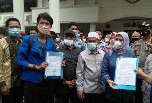 DPRD Kota Jambi Sepakat, dan Dukung Mahasiswa Tolak Omnibus Law