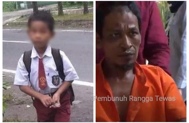 Samsul Bahri (41), pembunuh Rangga dan pemerkosa ibunya tewas di sel, Minggu (18/10/20). Samsul tewas saat hendak dibawa ke rumah sakit.