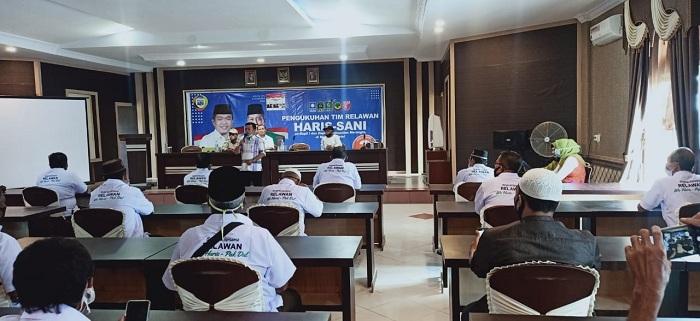 Tim Nalim, Ojik dan Al Haris Bersatu di Tim Pemenang Haris-Sani